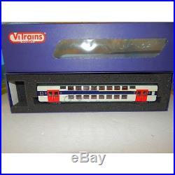 1054/3054 VITRAINS COFFRET DE 4 VOITURE VB2N HO + UNE VOITURE