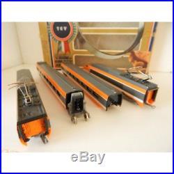109711 Lima Coffret Tgv Sud Est Orange Golden Série Superbe Etat Ho