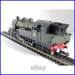 1 Locomotive Vapeur Liliput 232 Tc 423 Verte Et Noir Ho