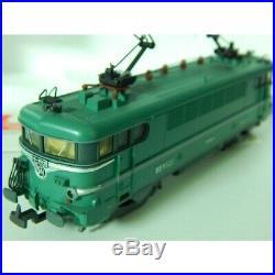 208159 Lp Rare Locomotibe Bb 9522 Vert Lima En Boite Etat Neuve Ho