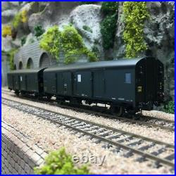 2 Fourgons Dqd2m SNCF Ep III HO 1/87 LSMODELS 30301