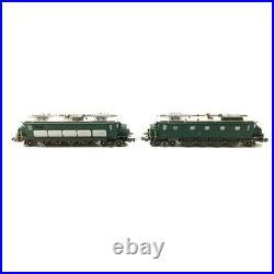 2 Locomotives Ae 4/7 (10939-11009) SBB Ep IV digit son-HO 1/87-PIKO 97784