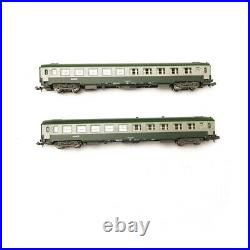 2 Voitures B10 UIC SNCF Ep V N 1/160 REE NW171
