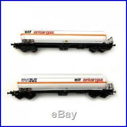 2 citernes ELF ELF Millet SNCF Ep IV-V-HO 1/87-LSMODELS 30751