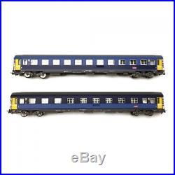 2 voitures corail Lunéa CL1/CL2 SNCF Ep VI-HO 1/87-PIKO 58650