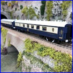2 voitures restaurant Simplon Orient Express Ep IV et V -HO 1/87-RIVAROSSI HR432