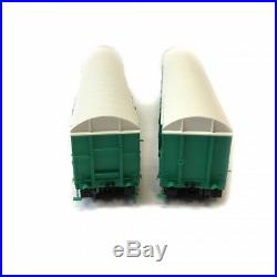 2 wagons Gahkkss 02-6 FRET Sncf ép V -HO-1/87- LSMODELS MW1612