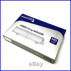 2 wagons HBBILLS-uy SBB CARGO Ep VI-HO 1/87-MABAR 87517