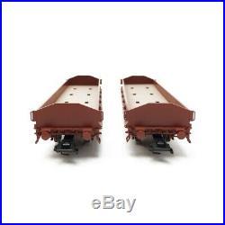 2 wagons à ranchers + 4 SAAB 92 Ep III SJ-HO 1/87-MARKLIN 45084