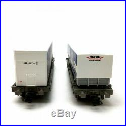 2 wagons poche (kangourou) HUPAC Ep VI-HO-ROCO 76198