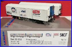 30 233 Ls Models Coffret De 2 Wagons Gervais Findus Voir Photos Neufs