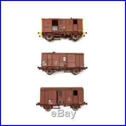 3 Fourgons Us sans feu de fin convoi SNCF Ep V et VI-HO 1/87-EPM E510012