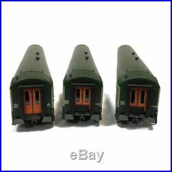 3 VoitureS UIC 2 fois A4B5, et B10 Sncf époque IV -HO-1/87-REE VB-122