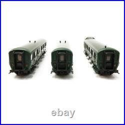 3 Voitures B11 / B11 / B7D SNCB Ep IV-HO 1/87-LSMODELS 42177