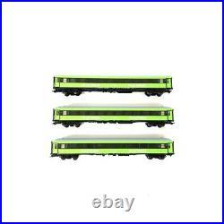 3 Voitures CL2 FLIXTRAIN Bmmz 264.4F et 264.4 Ep VI-HO 1/87-MARKLIN 42955