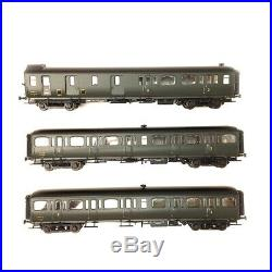 3 Voitures Express Nord C11, C11 et B4D (3CL/2CL/fourgon) Sncf Ep III -HO 1/87-L