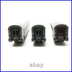 3 Voitures TER Rhône Alpes A5B5 B10 B10 SNCF Ep VI-HO 1/87-LSMODELS 41206