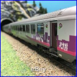 3 Voitures VTU Corail Intercités A10 B11 B10 SNCF Ep VI-HO 1/87-LSMODELS 40292