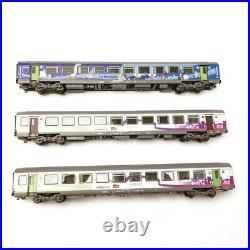 3 Voitures Vtu Intercités A10 B10 B10 SNCF Ep VI-HO 1/87-LSMODELS 41200