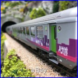 3 Voitures Vtu Intercités A10 B10 B11 SNCF Ep VI-HO 1/87-LSMODELS 41205