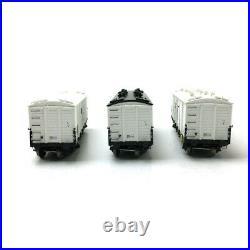 3 Wagons Frigo TP Trappes / Aer. SNCF STEF Ep III-HO 1/87-REE WB587