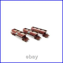 3 Wagons Trémie SIMOTRA Ep V -HO 1/87-REE WB576