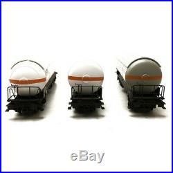 3 Wagons citernes Zags, Zagkks VTG Ep IV V-HO 1/87-LSMODELS 30762