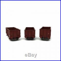 3 tombereaux UIC OCEM 29 Sncf Elmo 29 epIV-HO-1/87-LSMODELS 30260