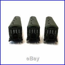 3 voitures A8, B9 et B9 Rapide Nord 1 et 2CL Sncf ép IIId-HO-1/87-LSMODELS 40188