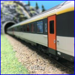 3 voitures Corail A5B5tu B5rtu B11tu SNCF Ep IV-HO 1/87-LSMODELS 40142