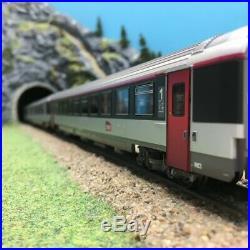 3 voitures Corail B10tu A10 tu B11tu SNCF Ep VI-HO 1/87-LSMODELS 40140