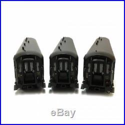 3 voitures Rapide Nord B9, B9, A6D ép IIIb Sncf -HO-1/87-LSMODELS 40187