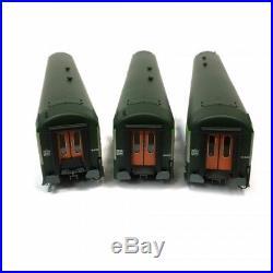 3 voitures UIC B5D B10 A4B5 Sncf époque V-HO-1/87-REE VB-162