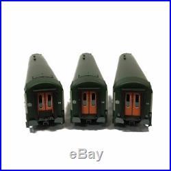 3 voitures UIC TER 2 fois B10 et B5D Sncf époque V-HO-1/87-REE VB-072