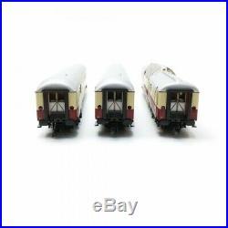 3 voitures du Rheingold DB Ep IV-HO 1/87-ROCO 74136
