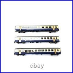 3 voitures unifiées EW I Ep IV-HO 1/87-PIKO 96788
