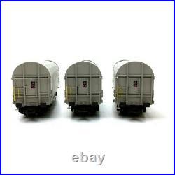 3 wagons bachés Shimms 62 AEE Ep VI-HO 1/87-MARKLIN 47219
