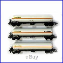 3 wagons citerne pare soleil Uas Simotra Sncf epIV et V-N-1/160-LSMODELS 60135