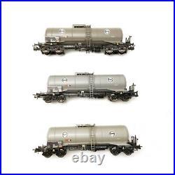 3 wagons-citernes, Eva DB Ep IV-HO-ROCO 76052