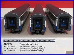 40 303 Ls Voitures Region Pays De Loire Coffret De Trois Neuves En Boites
