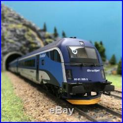 4 Voitures Railjet CD Ep VI-HO 1/87-ROCO 74142