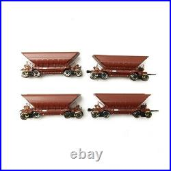 4 Wagons Trémies LKAB Ep V-HO-ROCO 66079