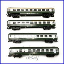 4 voitures UIC A9 1CL, A4B5x mixte 1/2CL, B10 2CL x 2, SNCF Ep IV -HO 1/87-MARK