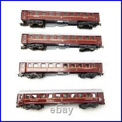 4 voitures particulières à quatre essieux Tin Plate-HO 1/87-MARKLIN 41921
