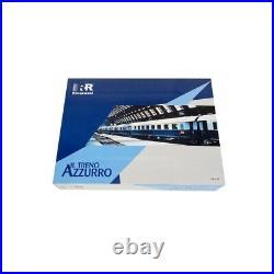 4 voitures voyageurs Treno Azzurro FS, Ep III-IV -HO 1/87-RIVAROSSI HR4275