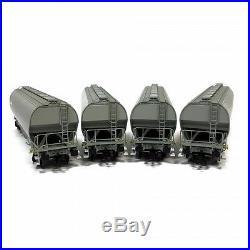 4 wagons trémie Millet gris clair nouveau logo ép VI-HO-1/87-LSMODELS 30580