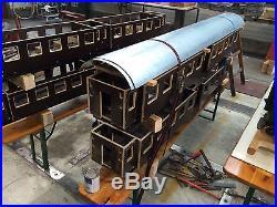 4 x Gartenbahn Echtdampflok Umbauwagen 5 Zoll Bausatz