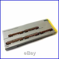 5 voitures CIWL Orient Express époque I -HO-1/87-TRIX 24793