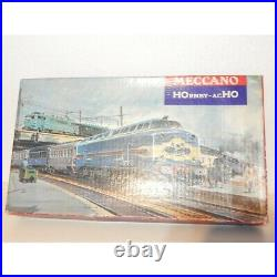 615 Rare Hornby Superbe Coffret Locomotive 060 Et 2 Voitures Ho