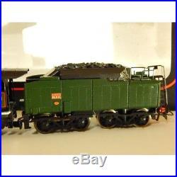 628249 Superbe Locomotive Vapeur Jouef 232 U 1 Et Tender 36 B 6 Ho Boite